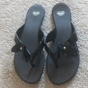 MEL Melissa jelly butterfly sandals 8 flip flop